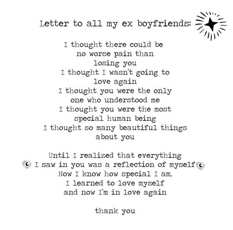 letter to my ex how to format cover letter