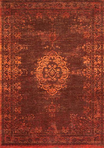 teppich braun orange vintage teppich orientteppich ambra braun orange