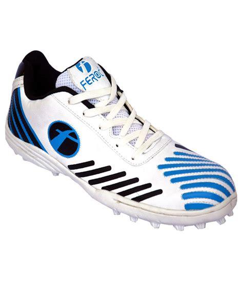 feroc blue cricket sports shoe price in india buy feroc
