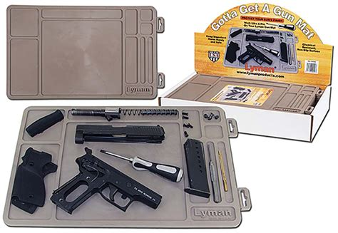 Handgun Cleaning Mat by Lyman Gun Cleaning Mat Is Back Firearm Professionals