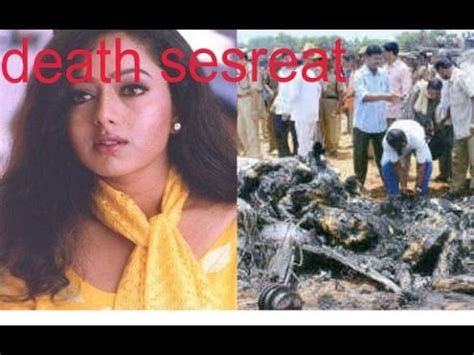 actress death pics actres soundarya death secreat youtube
