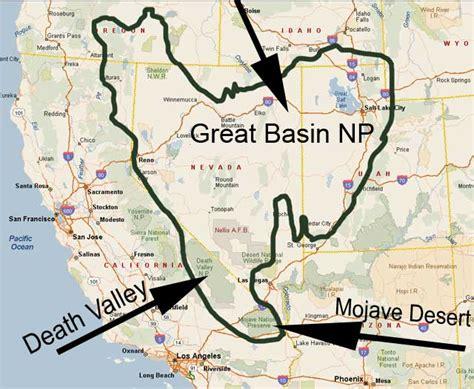 great basin usa map credits great basin national park