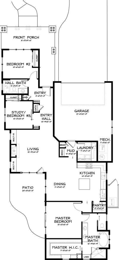 craftsman plans house blueprints craftsman style plans best floor images