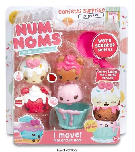 Num Noms Starter Pack Series 4 Cookies And Milk num noms scented starter 4 pack confetti