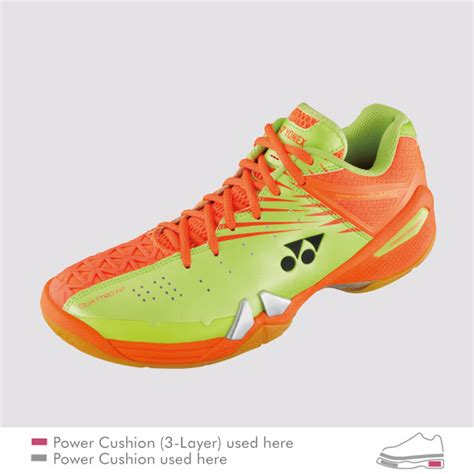 Sepatu Badminton Yonex Shb 01 yonex shb 01ltd lcw lime green orange