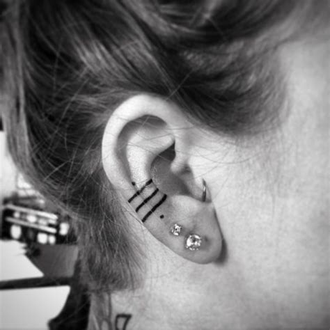 ear tattoos 25 best ideas about inner ear on ear