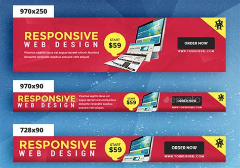 24 banner ad templates free sle exle format