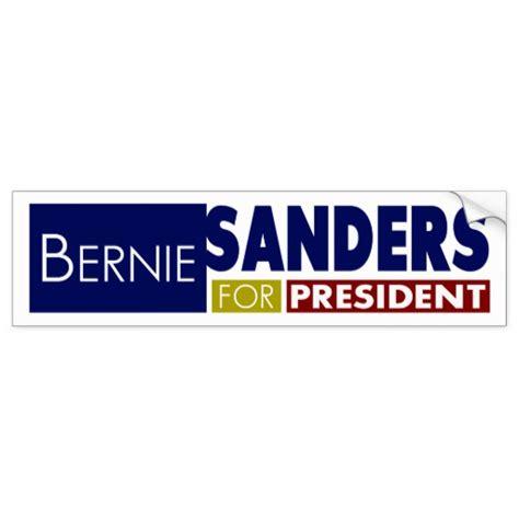 bernie sanders for president v1 bumper sticker zazzle
