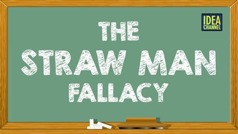 the strawman fallacy idea channel pbs digital studios