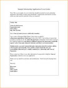 Writing A Cover Letter For A Application Exles by 8 Scholarship Letter Format Receipts Template