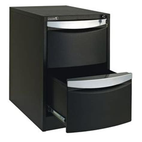 Stilford Filing Cabinet Stilford 2 Drawer Filing Cabinet Black Officeworks