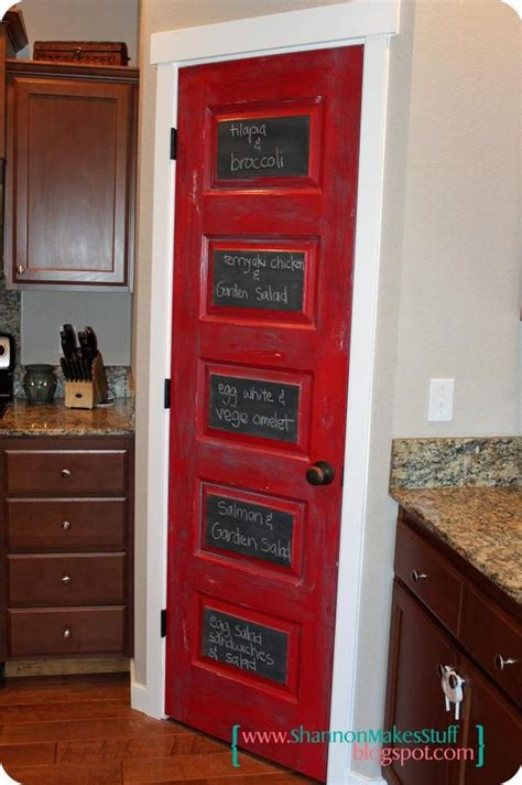 painted kitchen pantry door this y via