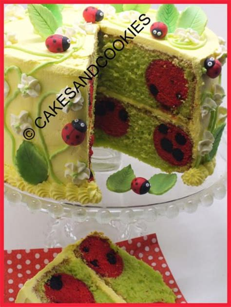 learn how to decorate the inside of your cakes and