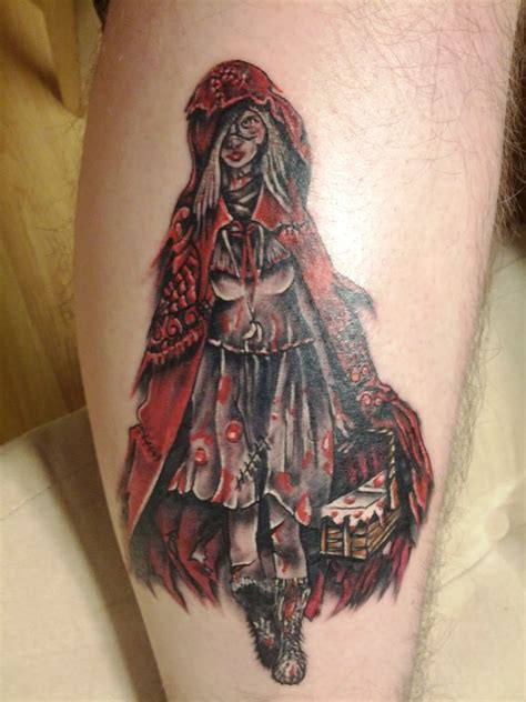tattoo nightmares red riding hood red riding hood tattoo by nyvz on deviantart