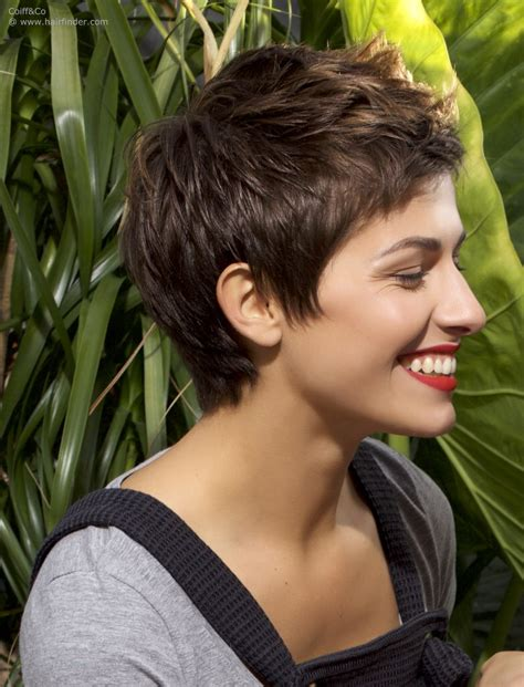 vomor curly pixie cut sides pixie undercut for straight and curly