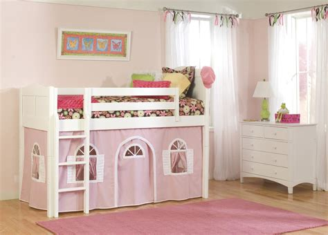 girl loft beds small room bunk bed
