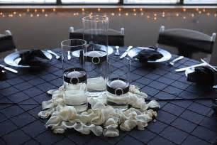 Formal English Garden - table setting white and black formal flickr photo sharing