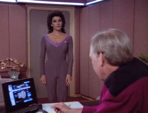X8 Deanna T Shirt White the valkyrie directive and wore less deanna troi