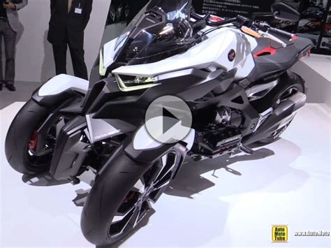 Dreirad Motorrad Honda by Honda Neowing Concept Bike Walkaround Tokyo Motorshow 2015