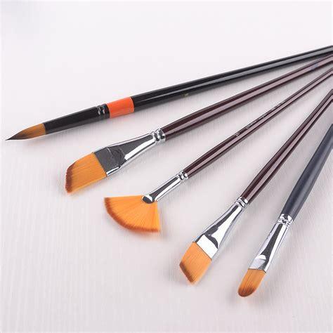 Acrylic Paint Brush Set Handled Brushes In Synthetic