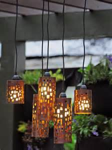 Diy Patio Lights Set The Mood With Outdoor Lighting Outdoor Spaces Patio Ideas Decks Gardens Hgtv