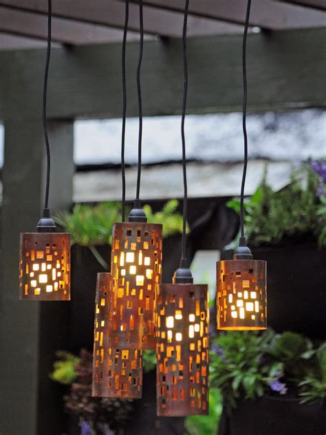 hanging lights in backyard set the mood with outdoor lighting outdoor spaces