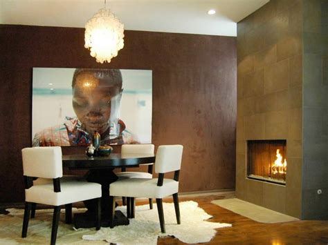 brown dining rooms 29 wall decor designs ideas for dining room design
