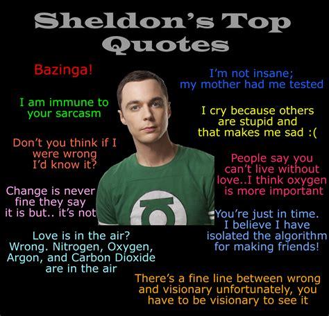 sheldon cooper quotes top sheldon cooper quotes quotesgram