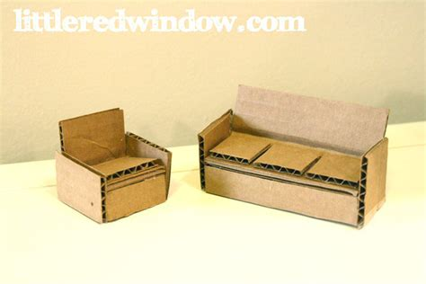 Jewish Decorations Home diy cardboard box toy house little red window