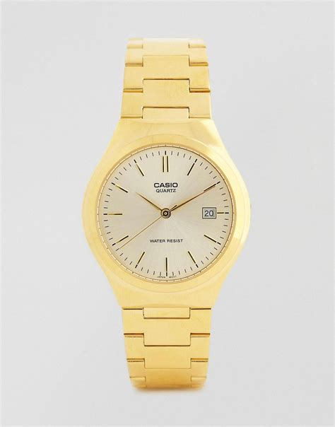casio casio gold stainless steel mtp1170n 9a