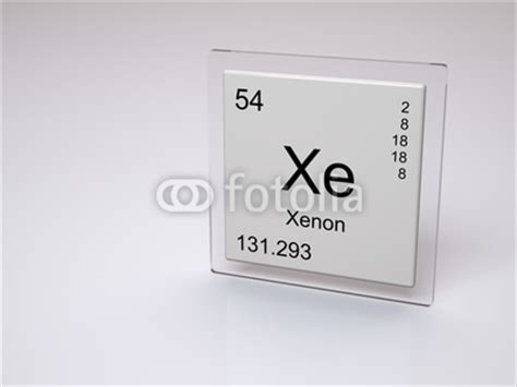 Xe On Periodic Table by Xenon Symbol Xe Chemical Element Of The Periodic Table By Concept W Royalty Free Stock