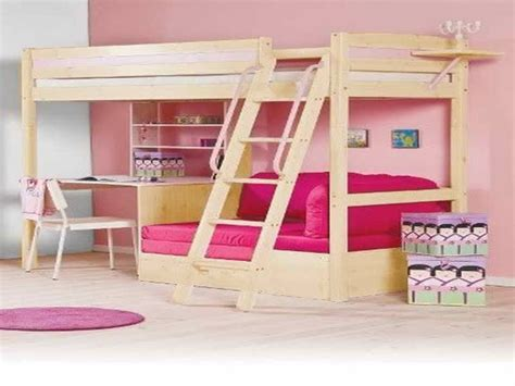 bunk bed with a desk diy bunk bed with desk woodworking projects