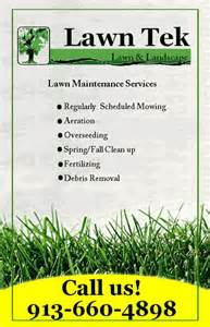 lawn care flyer template free lawn maintenance flyer template