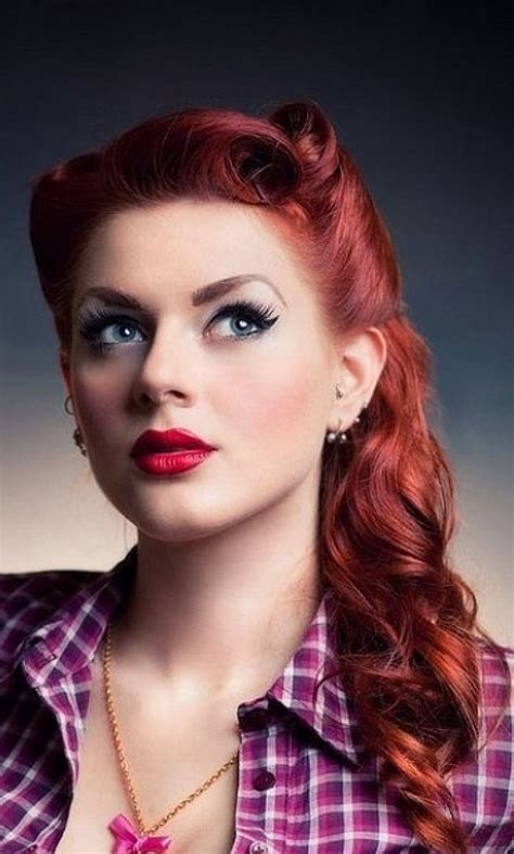 get pin up red hair color keep it vibrant 181 best pin up girl outfit ideas images on pinterest