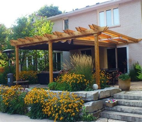 Pergola With Retractable Awning by 17 Best Ideas About Retractable Awning On