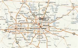 dallas map dallas location guide