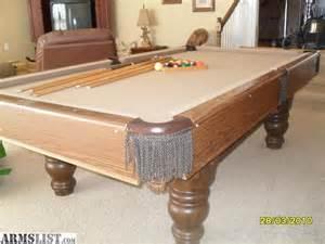 steepleton pool table armslist for sale steepleton pool table