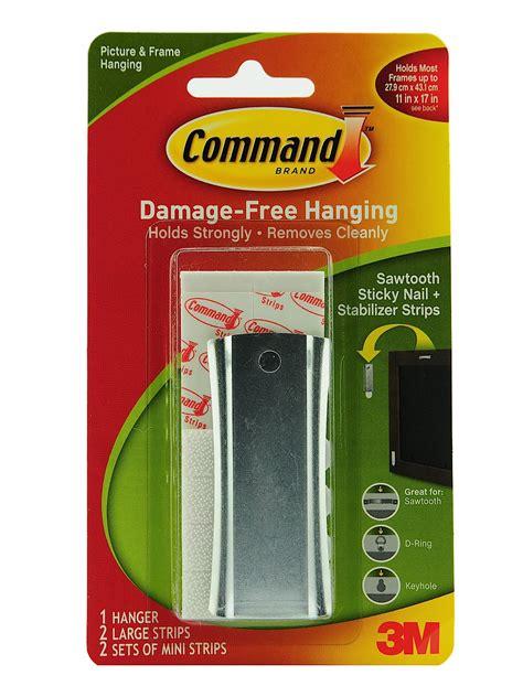command sticky nail sawtooth hanger how to organize my 3m command sticky nail sawtooth hanger misterart com
