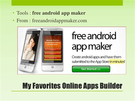android app maker make android apps without programming skill