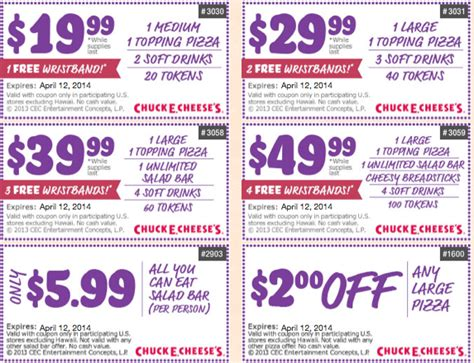 printable food coupons 2014 chuck e cheese coupons for 2014 autos post