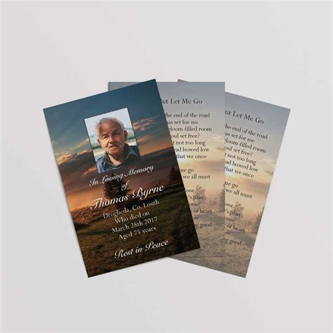 Wallet Gift Card - memorial wallet cards