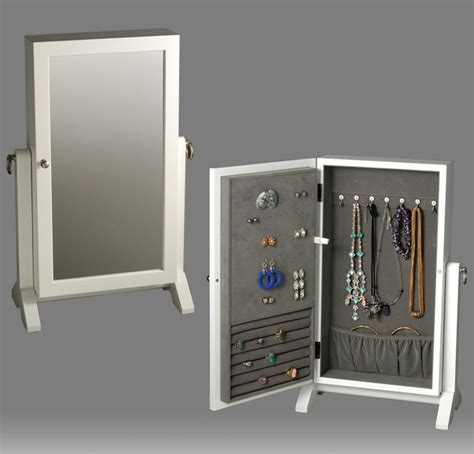 wall mounted locking jewelry cabinet new wall mount jewelry box armoire cabinet organizer ring