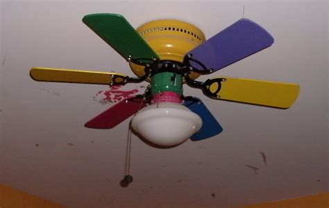 multi fan ceiling fan multi colored ceiling fan for the style of your rooms