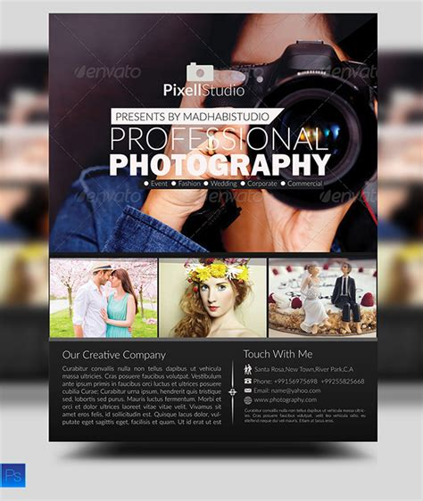 Photography Flyer Ideas