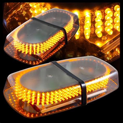 roof mounted amber flashing lights amber 240 led roof mount high power emergency strobe