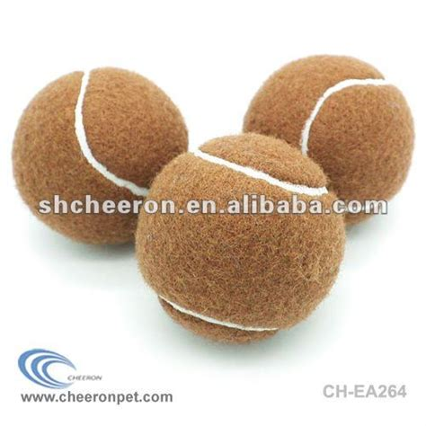 brown tennis ball buy brown tennis ball colorful pet