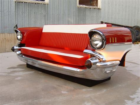 57 chevy sofa 57 chevy belair furniture 57 bel air couch love this 57