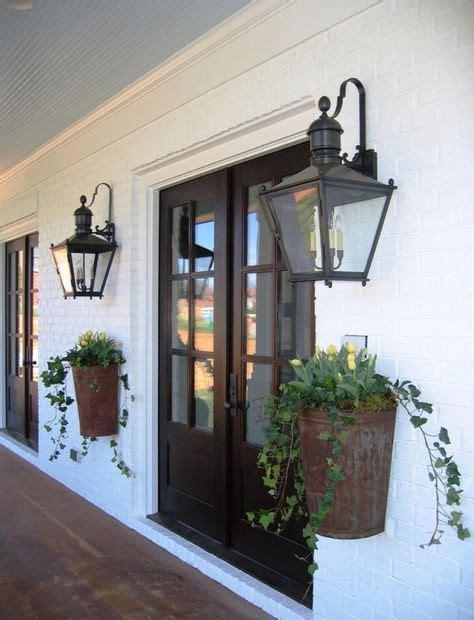 orleans entryway planters lanterns modern