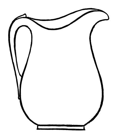 Image Outline jug outline image clipart best