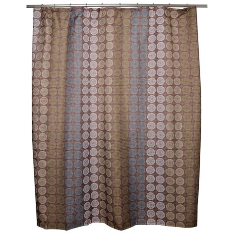 home depot shower curtains famous home fashions moge shower curtain 901768 the home
